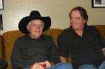 Ramblin' Jack Elliot and Greg Johnson