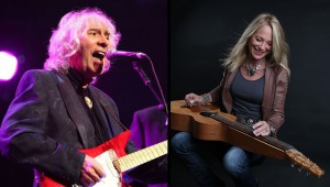 Albert Lee and Cindy Cashdollar