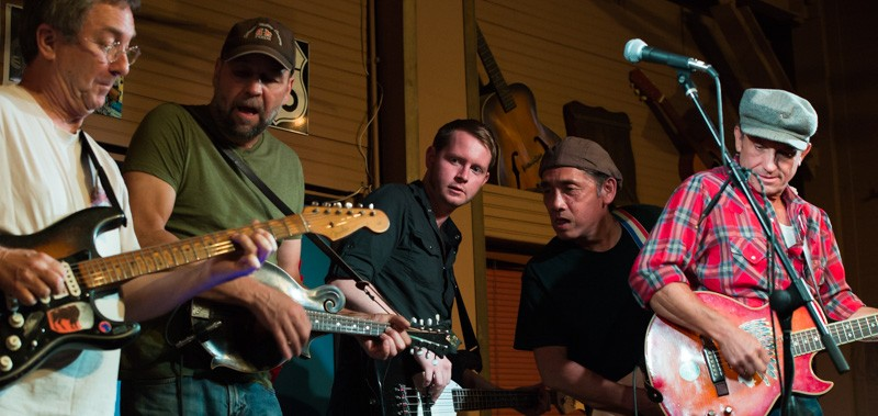 John Fullbright, Terry Ware and the Red Dirt Rangers