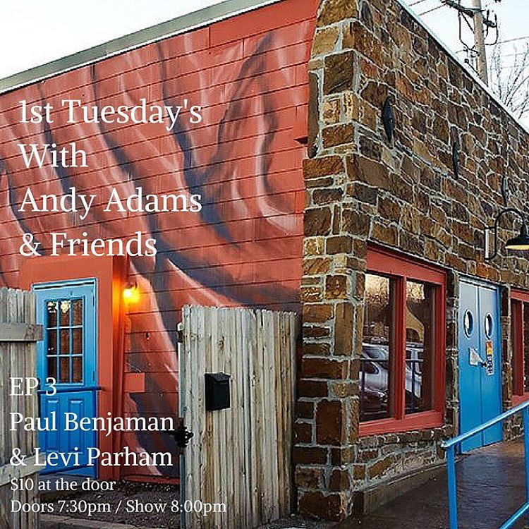 Tomorrow night Andy Adams and his friend Levi Parham andhellip