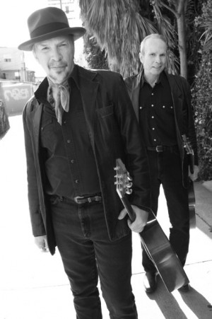 Dave and Phil Alvin Photo By Jeff Fasano