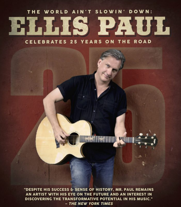 Ellis Paul 25 years on the road