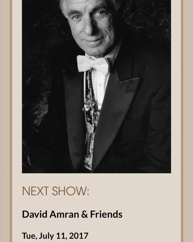 TONIGHT! 71117 David Amram started his professional life in musichellip