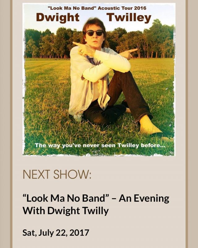 TONIGHT! 72217 Hope you all can come see Dwight tonighthellip