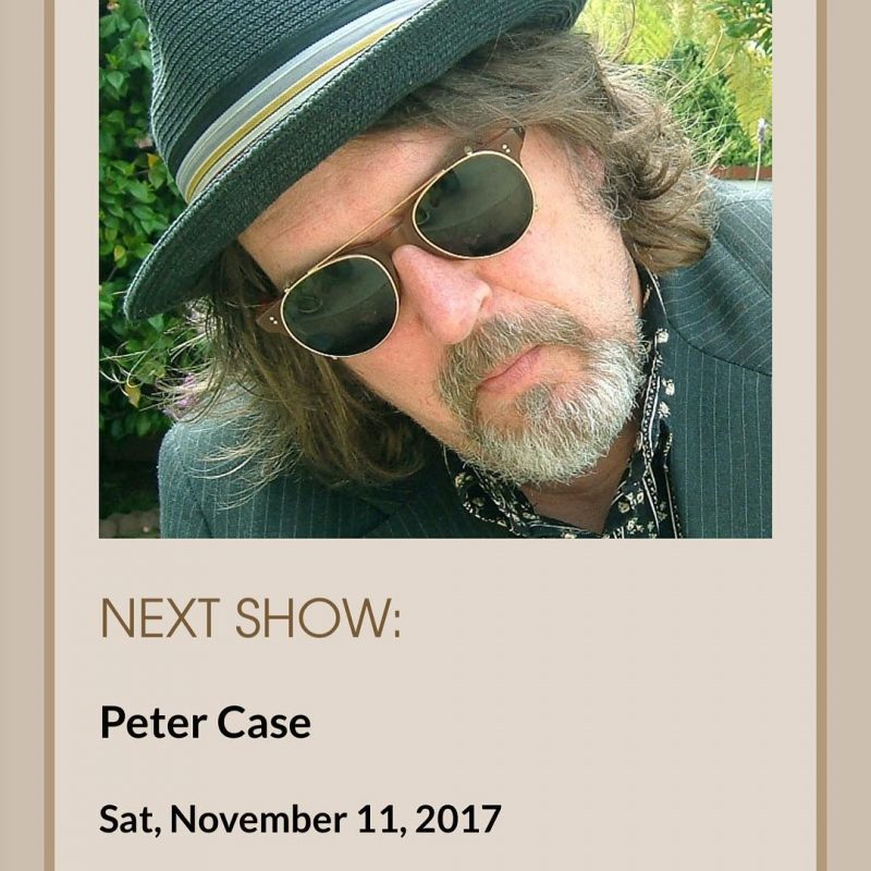 Tonight at the Blue Door the great Peter Case 8hellip